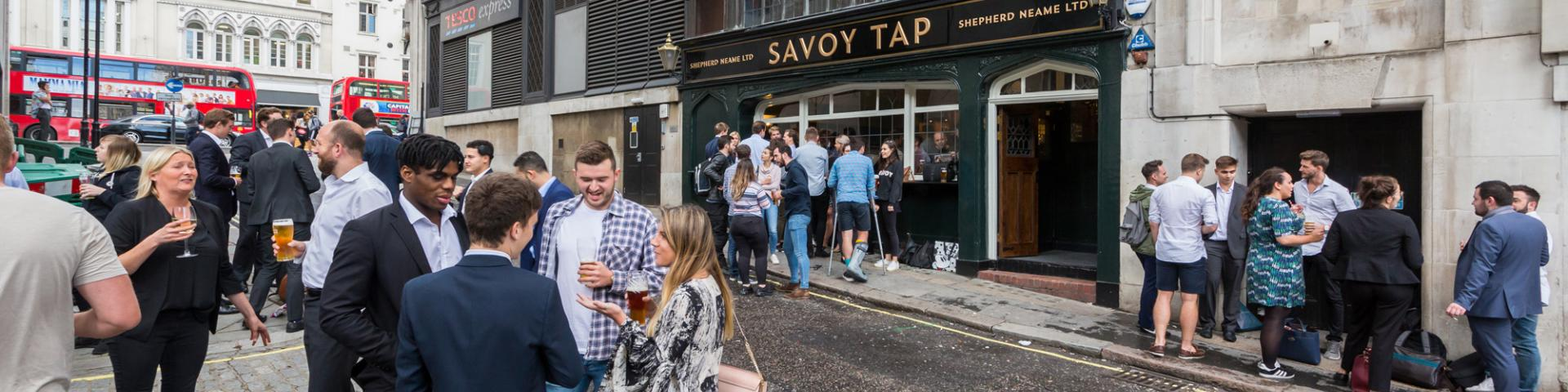 Savoy Tap, The Strand, London